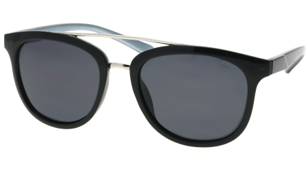 POL0724 Silver - Grey lenses  (111519)