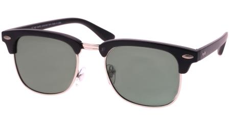 POL0310 Black - Green lenses  (111544)