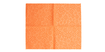 ROLL EMBO SMALL FLOWERS Orange (127277)
