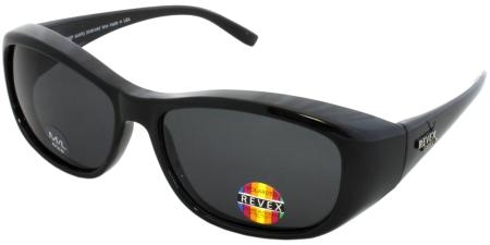 POL0499 Black - Grey lenses  (96198)