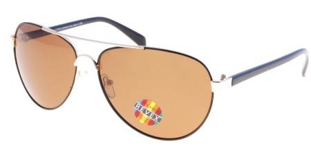 POL0177 Gold - Brown lenses  (96229)